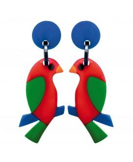 BO Perroquet rouge et vert - Marion Godart