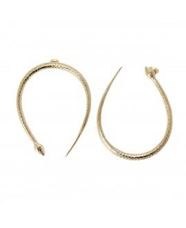 Boucles D'oreilles EDEN - 4 Crosses