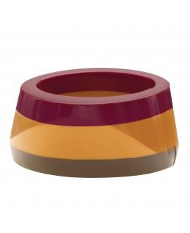 Bracelet élastique terracota en résine - Marion Godart