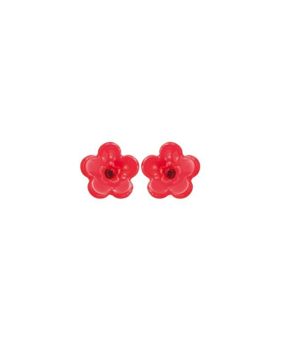 Mini puces fleurs rouge marion godart