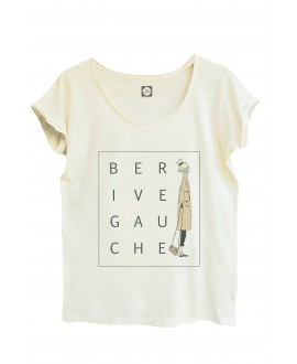 T-shirt Be Rive Gauche - Be Parisian