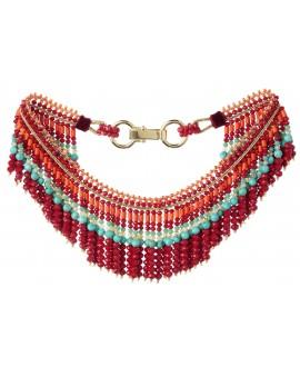 Collier perle colorés - Marion Godart
